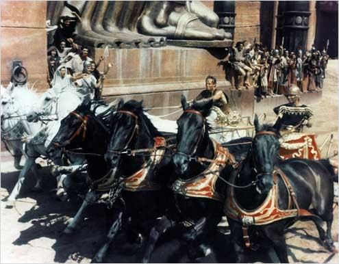 Ben-Hur : photo Charlton Heston, Stephen Boyd, William Wyler