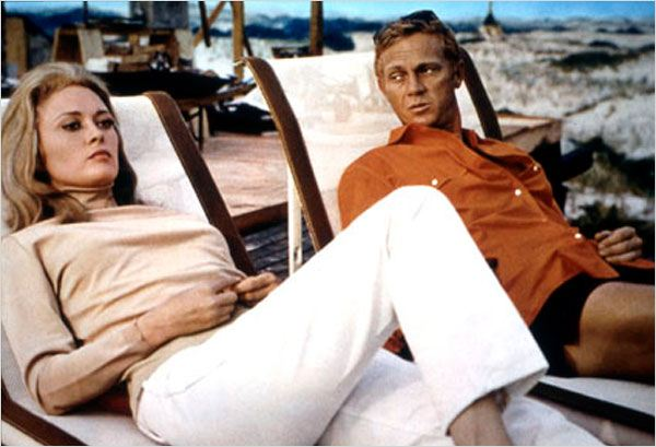 L'Affaire Thomas Crown : photo Faye Dunaway, Norman Jewison, Steve McQueen