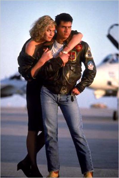 Top Gun : photo Kelly McGillis, Tom Cruise, Tony Scott