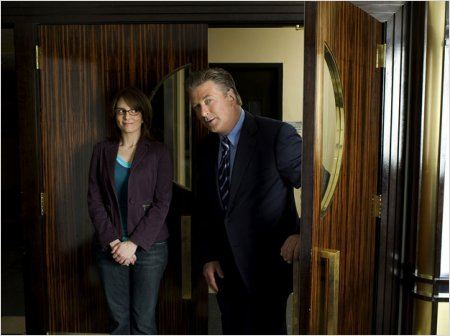30 Rock : Photo Alec Baldwin, Tina Fey