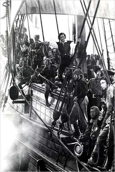 L'Aigle des mers : photo Errol Flynn, Michael Curtiz