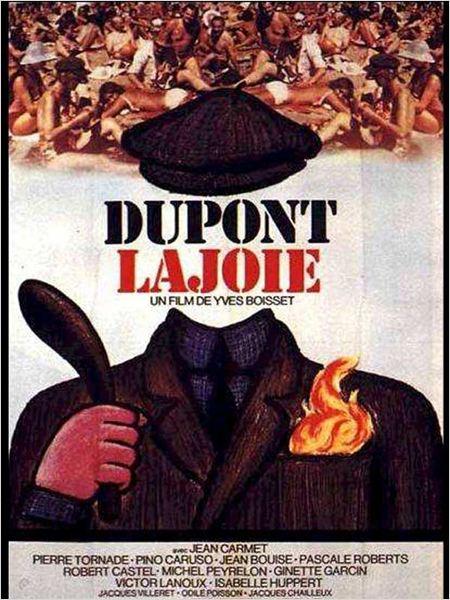Dupont Lajoie : affiche