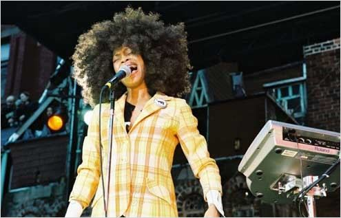 Block Party : Photo Erykah Badu, Michel Gondry