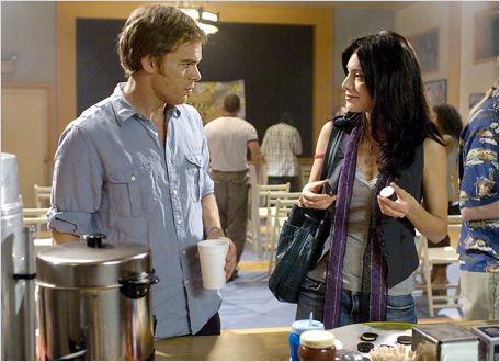 Dexter : Photo Jaime Murray, Michael C. Hall