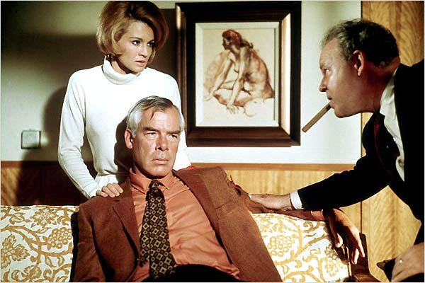 Le Point de non retour : photo Angie Dickinson, John Boorman, Lee Marvin
