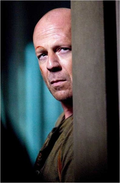 Die Hard 4 - retour en enfer : photo Bruce Willis, Len Wiseman