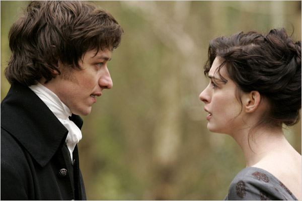 Jane : photo Anne Hathaway, James McAvoy, Julian Jarrold