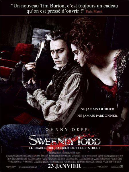 bande originale, musiques de Sweeney Todd le diabolique barbier de Fleet Street