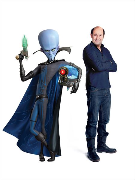 Megamind : photo Kad Merad, Tom McGrath