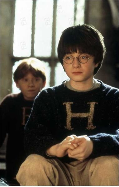 Harry Potter &#224; l&#39;&#233;cole des sorciers : photo Chris Columbus, Daniel Radcliffe, Rupert Grint