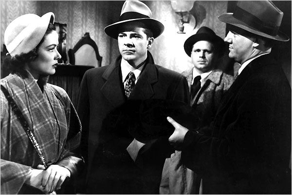 Mark Dixon, détective : photo Dana Andrews, Gene Tierney, Otto Preminger