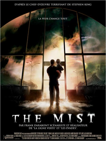 The Mist : affiche Frank Darabont, Stephen King, Thomas Jane