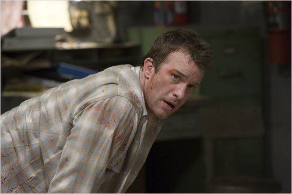 The Mist : photo Frank Darabont, Thomas Jane