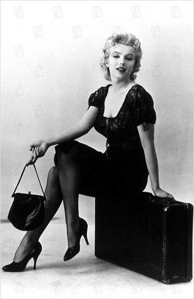 Arrêt d'autobus : photo Joshua Logan, Marilyn Monroe