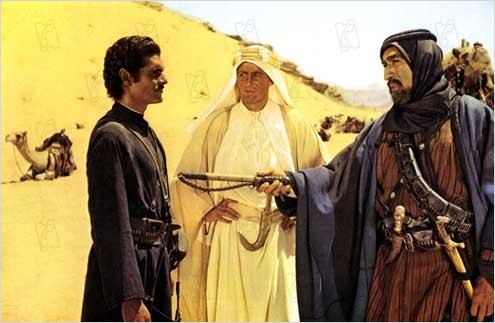 Lawrence d'Arabie : Photo Anthony Quinn, David Lean, Omar Sharif, Peter O'Toole