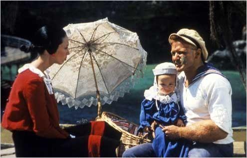 Popeye : Photo Robert Altman, Robin Williams, Shelley Duvall