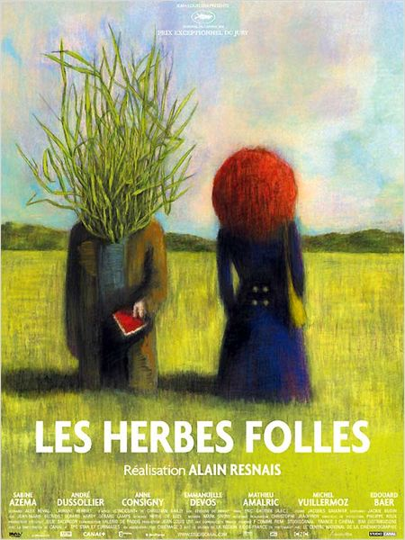 Les Herbes folles : Affiche Alain Resnais