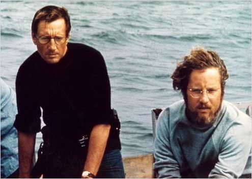 Les Dents de la Mer : Photo Richard Dreyfuss, Roy Scheider, Steven Spielberg