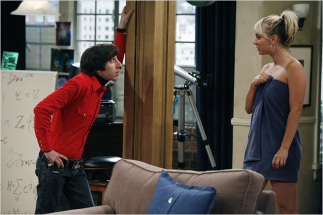 The Big Bang Theory : photo Kaley Cuoco, Simon Helberg