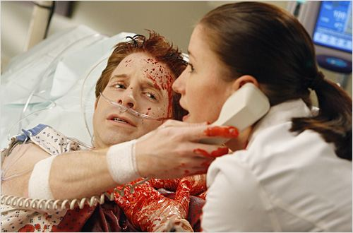 Grey's Anatomy : Photo Chyler Leigh, Seth Green