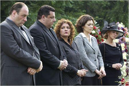 Les Soprano : Photo Aida Turturro, James Gandolfini, Steve R. Schirripa