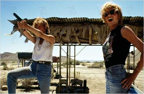 Thelma et Louise : photo Geena Davis, Ridley Scott, Susan Sarandon
