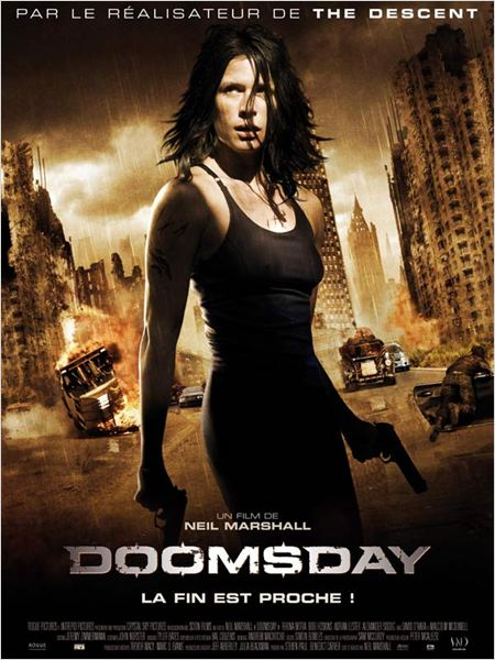 Doomsday : affiche Neil Marshall, Rhona Mitra