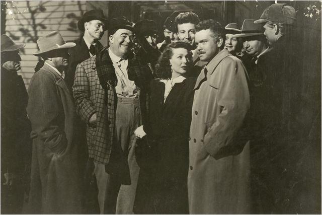 Le Criminel : Photo Loretta Young, Orson Welles
