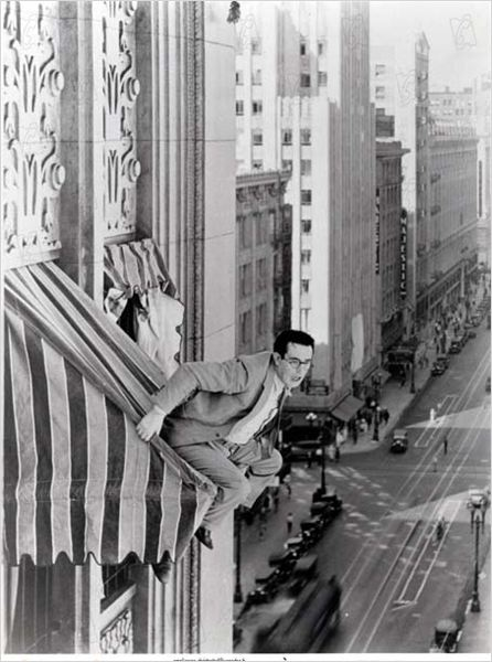 A la hauteur : photo Clyde Bruckman, Harold Lloyd