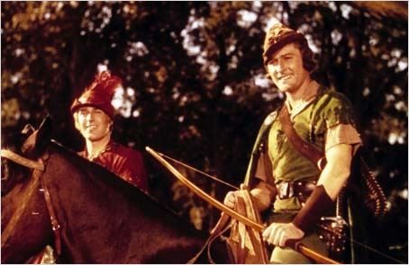 Les Aventures de Robin des Bois : photo Errol Flynn, Michael Curtiz