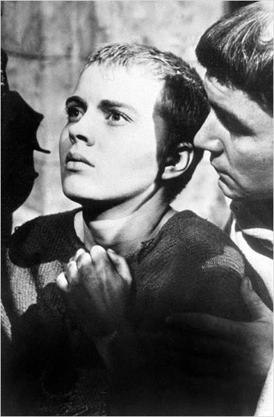 Sainte Jeanne : photo Jean Seberg, Otto Preminger