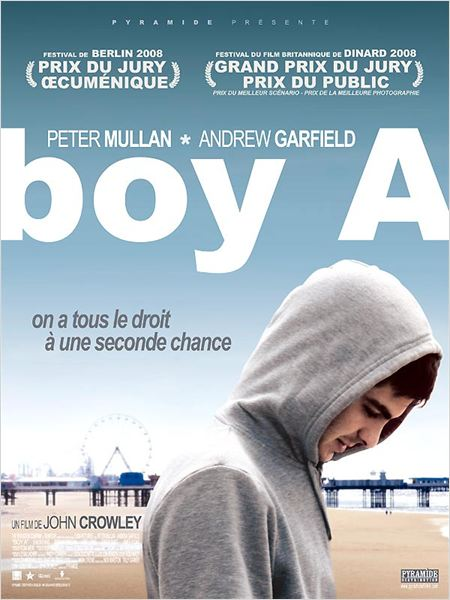 Boy A : Affiche Andrew Garfield, John Crowley