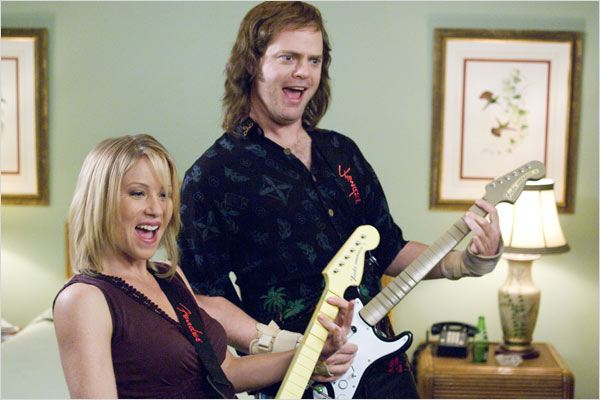 The Rocker : Photo Christina Applegate, Peter Cattaneo, Rainn Wilson