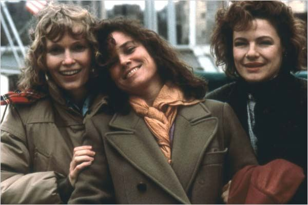 Hannah et ses soeurs : photo Barbara Hershey, Dianne Wiest, Mia Farrow, Woody Allen