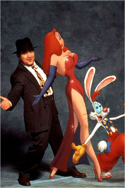 Qui veut la peau de Roger Rabbit ? : photo Bob Hoskins, Robert Zemeckis