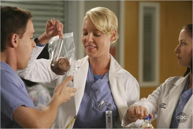 Grey's Anatomy : photo Chyler Leigh, Katherine Heigl, T.R. Knight