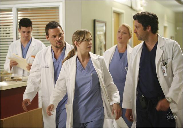 Grey's Anatomy : Photo Ellen Pompeo, Justin Chambers, Katherine Heigl, Patrick Dempsey
