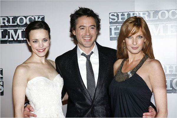 Sherlock Holmes : Photo Guy Ritchie, Kelly Reilly, Rachel McAdams, Robert Downey Jr.