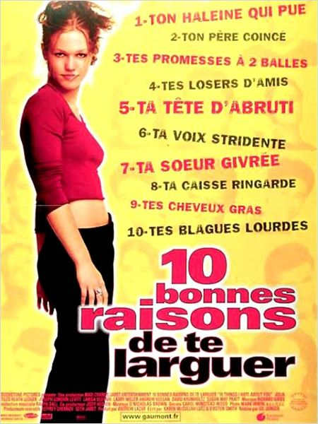 10 bonnes raisons de te larguer [FRENCH] [DVDRiP] [MULTI]