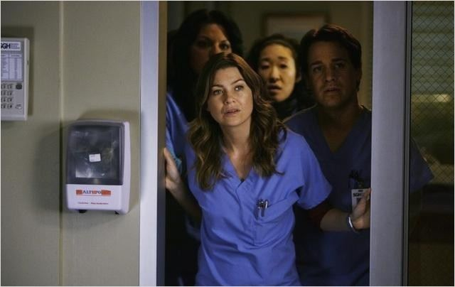 Grey&#39;s Anatomy : photo Ellen Pompeo, Sandra Oh, Sara Ramirez, T.R. Knight