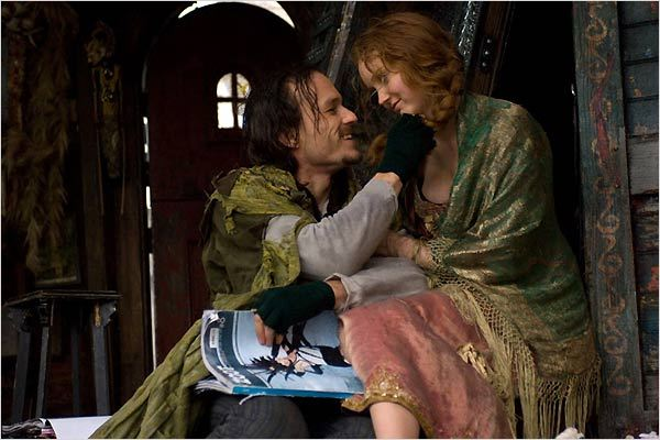 L'Imaginarium du Docteur Parnassus : photo Heath Ledger, Lily Cole, Terry Gilliam