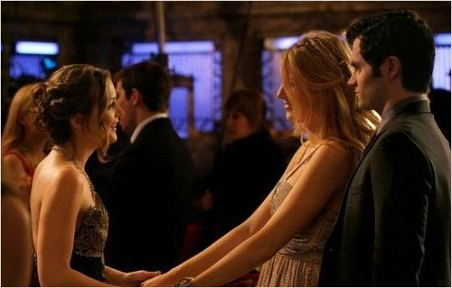 Gossip Girl : Photo Blake Lively, Leighton Meester, Penn Badgley