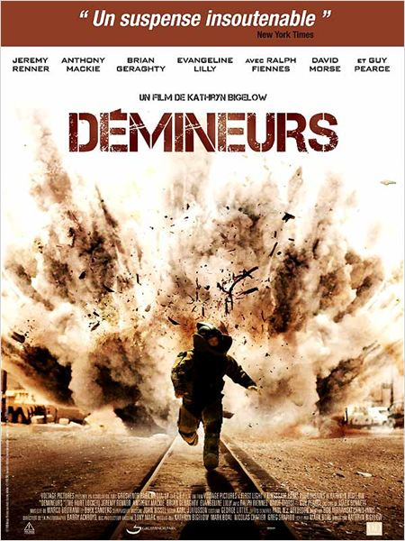 Poster du film Démineurs (The Hurt Locker) en streaming VF