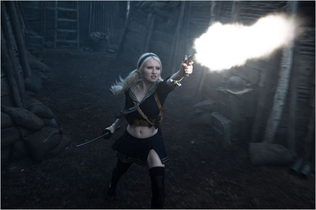 Sucker Punch : Photo Emily Browning, Zack Snyder