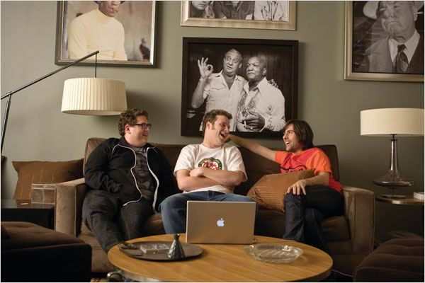 Funny People : Photo Jason Schwartzman, Jonah Hill, Judd Apatow, Seth Rogen
