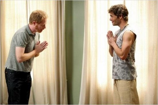 Modern Family : Photo James Marsden, Jesse Tyler Ferguson