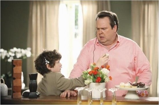 Modern Family : Photo Eric Stonestreet, Nolan Gould