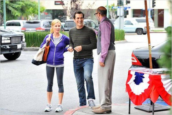 Photo David Cross, Julie Bowen, Ty Burrell