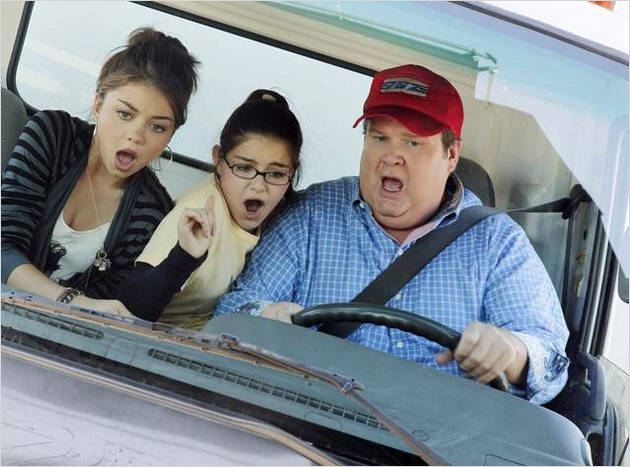 Photo Ariel Winter, Eric Stonestreet, Sarah Hyland