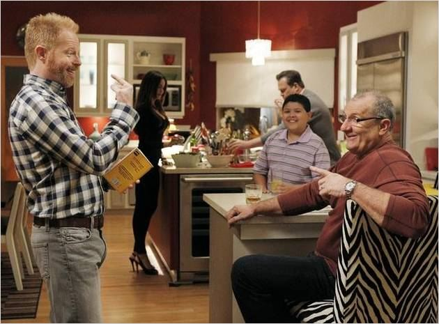 Modern Family : photo Ed O&#39;Neill, Jesse Tyler Ferguson, Rico Rodriguez, Sofia Vergara